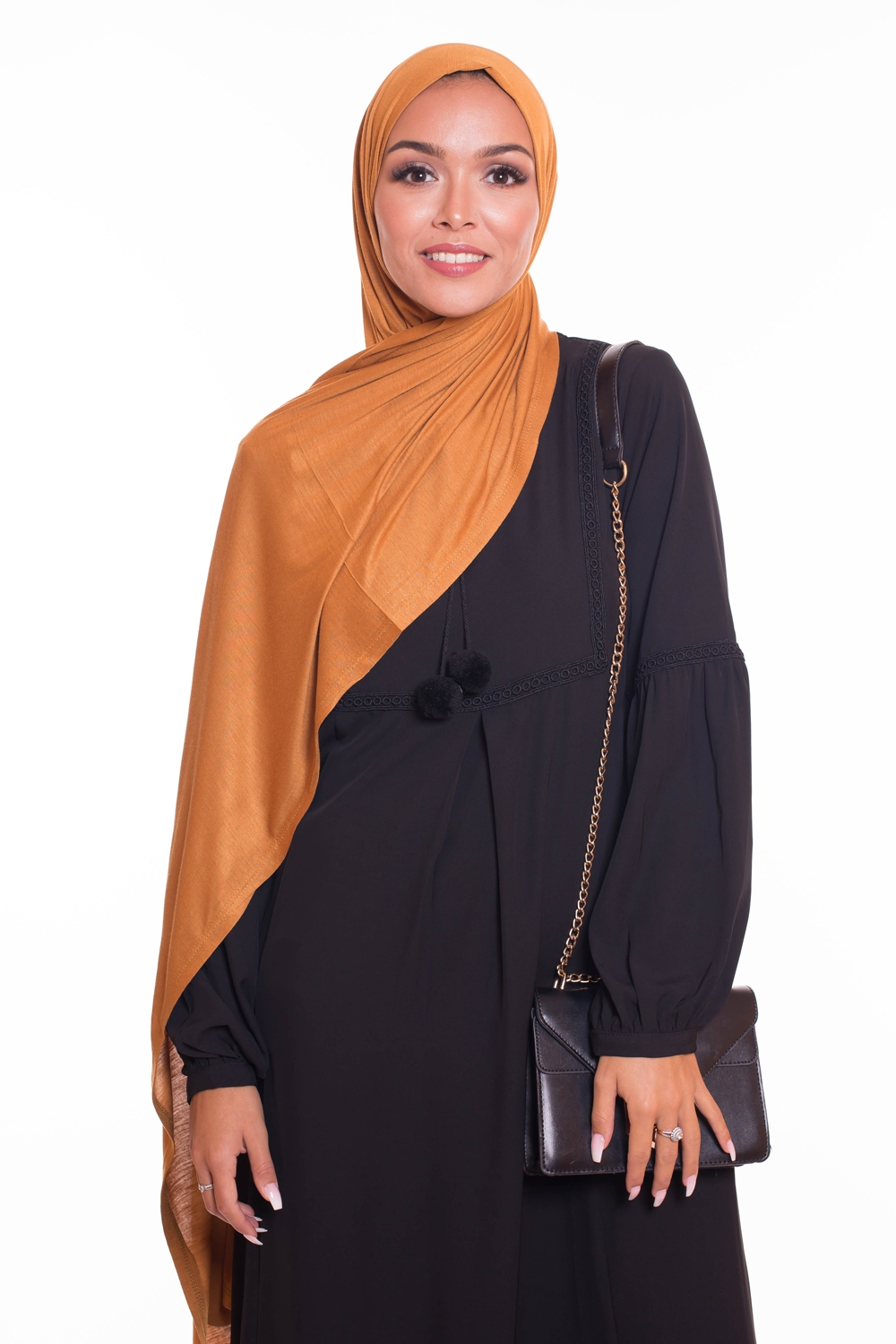 Hijab pure and cool moutarde