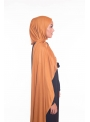 Hijab jersey moutarde