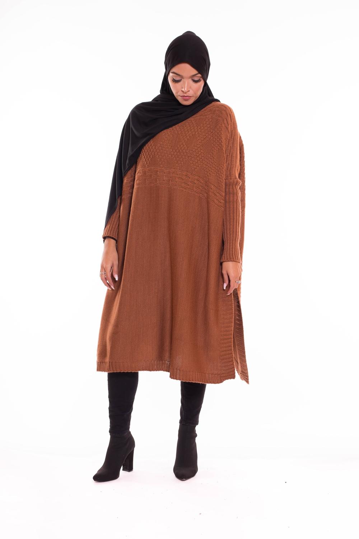 Tricot farasha camel