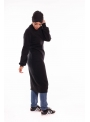 Pull winter noir boutique hijab mode modeste femme musulmane
