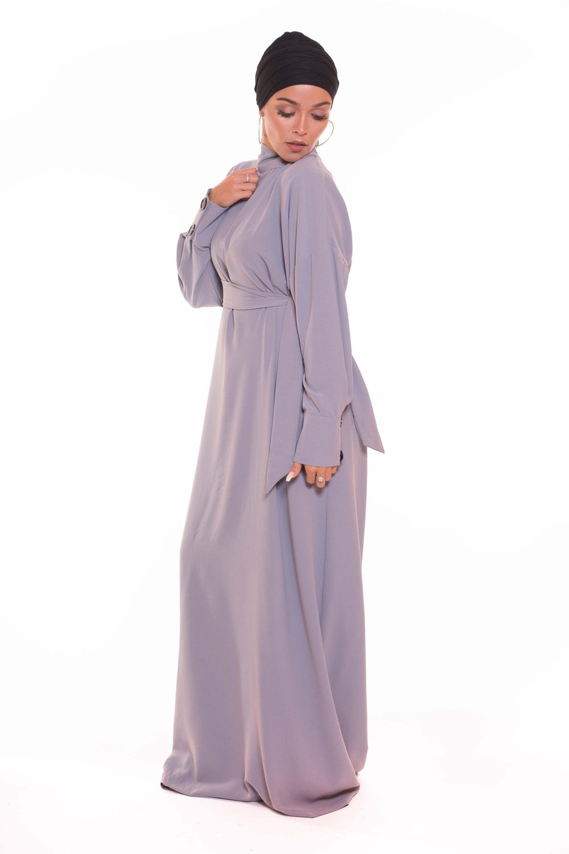 Robe Asmara grise