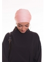 Turban multi croisé rose boutique hijab