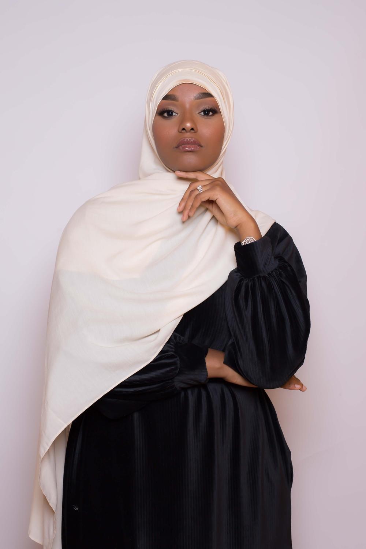 Hijab prêt à porter 4 saisons beige
