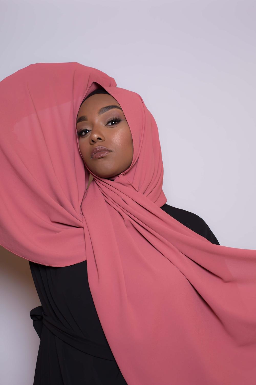 Hijab premium terre cuite